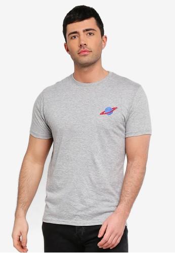 Brave Soul grey Crew Neck T-Shirt 5512CAAF45E002GS_1