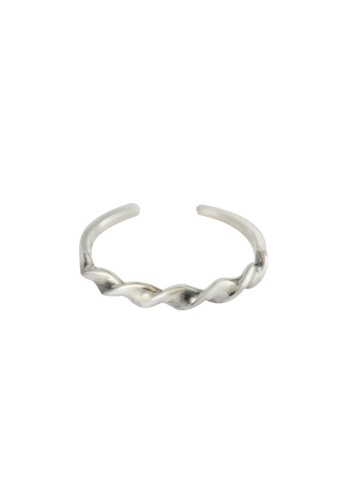 A-Excellence silver Premium S925 Sliver Wave Ring 087B5AC8A43AE1GS_1