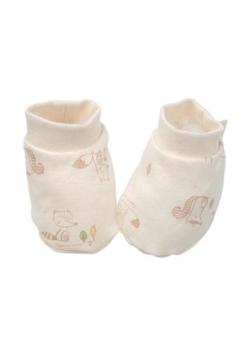 Organic mom orange Organic Little Foxy Socks (FALL) B3A11KA21D25ABGS_1