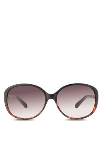 Kate Spade purple Trendy Oversized Sunglasses KA433GL51HXCMY_1