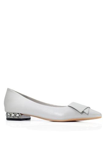Twenty Eight Shoes grey Rhinestone Low Heel Pumps VL24962 6E1BBSH2222DB3GS_1