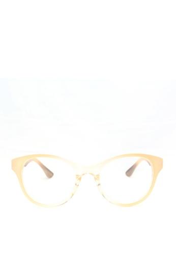 Kaca-kaca multi Kaca Kaca Felicia Nude Candy Eyeglasses KA666AC0RJCXMY_1