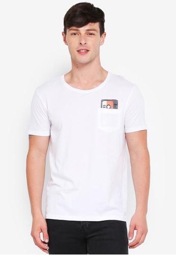 ESPRIT 白色 短袖T恤 D5719AA151095CGS_1