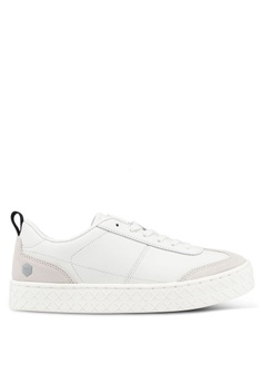1165d243664e BoxandCox white Aholic Leather WWW Sneakers A63DDSHE3151DAGS 1