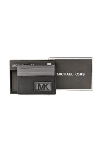 Michael Kors black Michael Kors Gifting Leather Tall Card Case In Box 36U0LGFY1L Black 28A28AC258D304GS_1