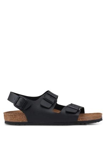 Birkenstock black Milano Birko-Flor Sandals EBEB5SH2A29440GS_1