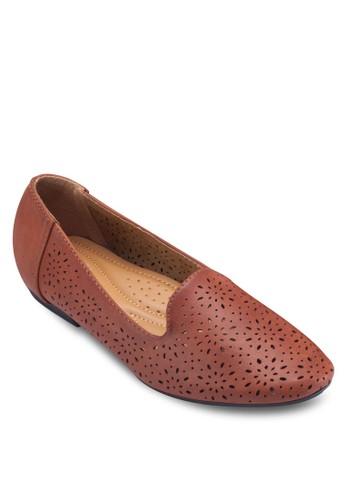 雕花仿皮esprit outlet 台中樂福鞋, 女鞋, 船型鞋