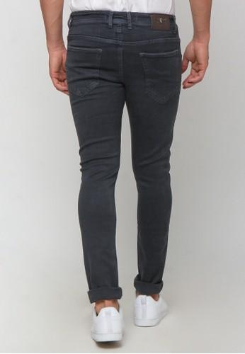 Jual Boy London Skinny Jeans Light Grey Original | ZALORA