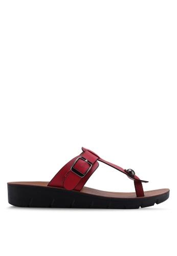 NOVENI 紅色 Casual Sandals EC9FESH7440F8BGS_1