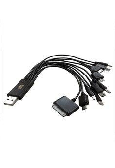 10 in 1 USB Data Cable