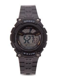 Unisex Rubber Strap Watch MXPO-637D