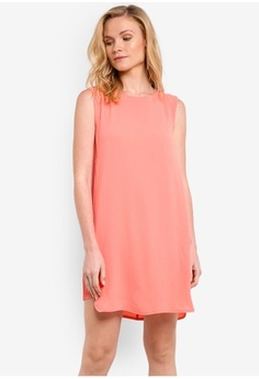 ZALORA. Essential Pleated Side Detail Dress abad9a92e