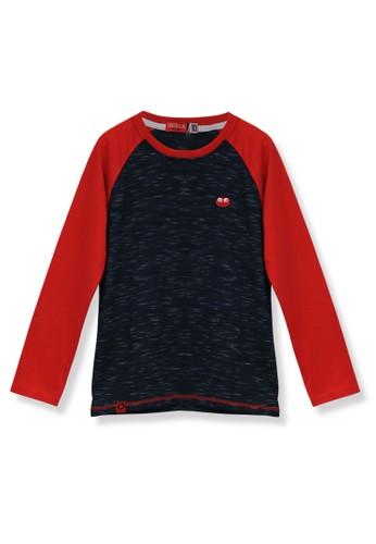 Osella Kids navy Osella Baju Anak Laki Laki Tshirt Lengan Panjang Navy D3395KAC4B7073GS_1