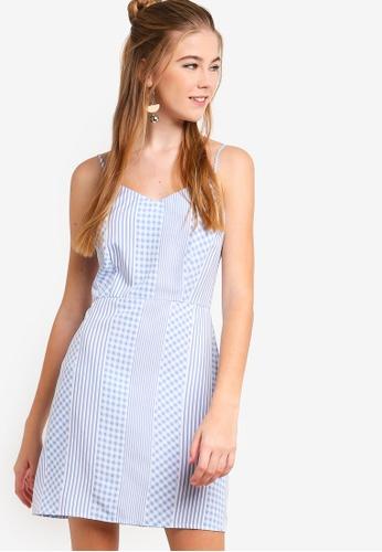 Something Borrowed blue Camisole Dress B8424AA03C617BGS_1
