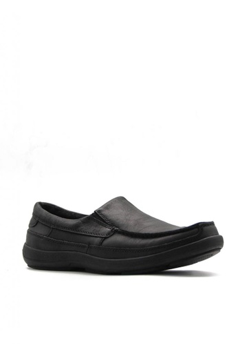 Hush Puppies black Ethan Cody Slip On M A9950SHE293334GS_1