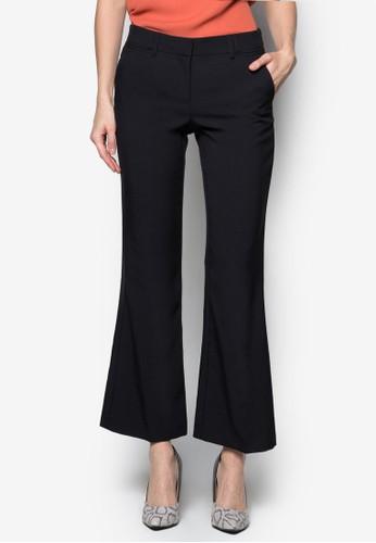 簡約喇叭長褲, zalora 台灣服飾, 服飾