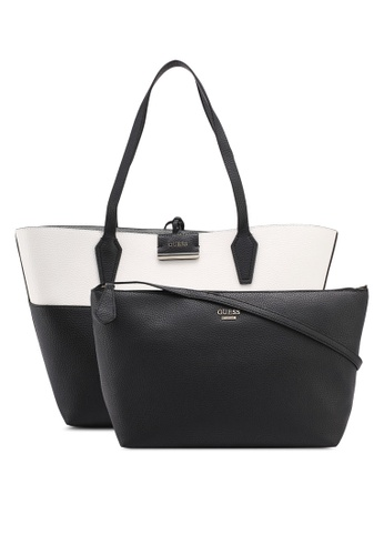 Guess multi Bobbi Inside Out Tote 24C7EACFD4BF87GS_1
