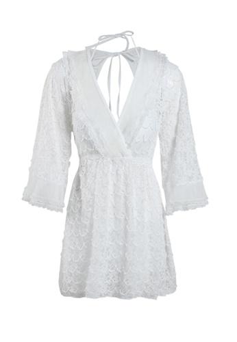 Its Me white (3PCS) Sexy Lace Bikini Swimsuit 610D0US6297B19GS_1