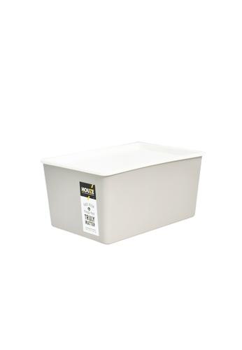 HOUZE grey HOUZE - 5L Linear Box with Lid - Grey 604CBHL5B0D8EDGS_1