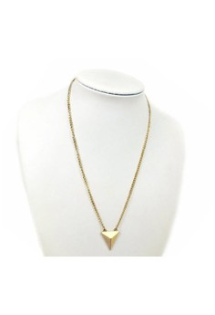 Simple Triangle Long Necklace