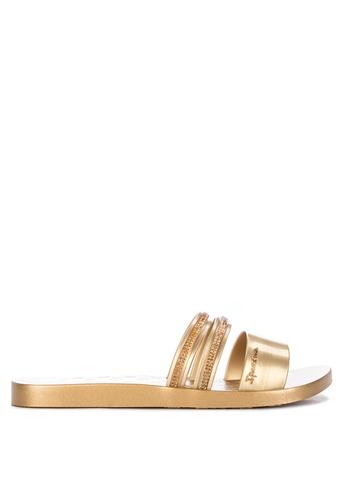 af8806d96 Shop Ipanema New Glam Fem Flat Slides Online on ZALORA Philippines