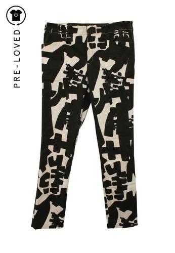 Isabel Marant black Pre-Loved isabel marant Black + White Jeans B12B9AAFBB5B3DGS_1
