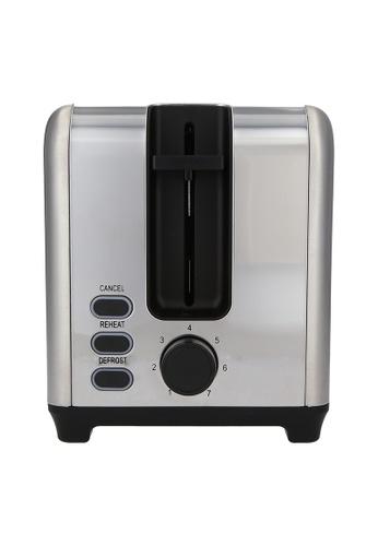 JVD JVD Lifestyle Sahara Bread Toaster, Stainless Steel 96E76HLC9E263CGS_1