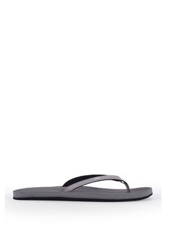 Indosole grey Indosole Women's ESSNTLS Flip Flops - Granite 956BDSH5C925AFGS_1