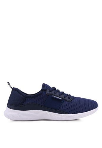 Power blue and navy Power Training Shoes E5A83SHC3839B4GS_1