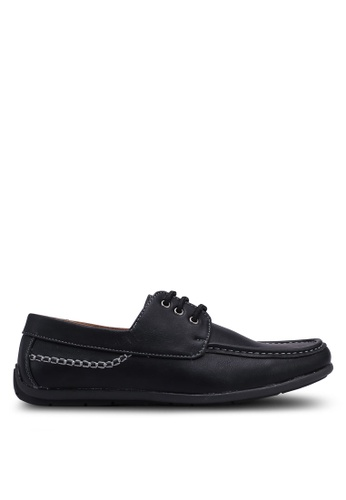 Rocklander black Lace Up Loafers EF96DSHFF5D4B0GS_1