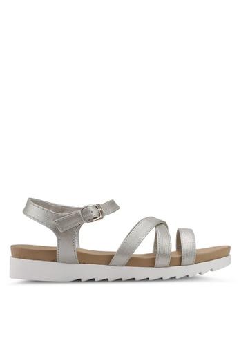 Bata silver Bata Women Sandals 2A49ASH01602F3GS_1