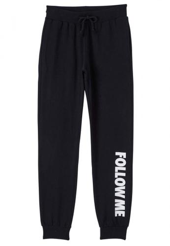 Terranova black Long Full-length Gym Pants 30054AA5D158F7GS_1