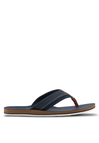 ALDO navy Galoisa Sandals F624ASH3DAED64GS_1
