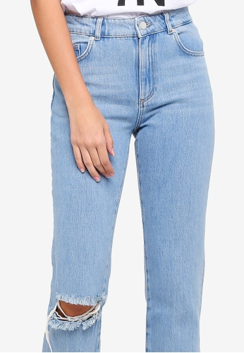b96cff93257 Buy French Connection High Rise Straight Jeans Online on ZALORA ...
