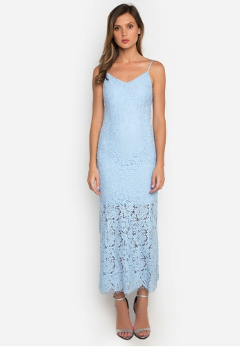 NOBASIC blue Laced Mermaid Maxi Dress AF143AA53208C2GS_1