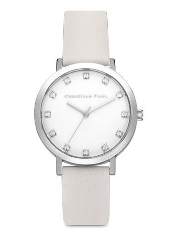 Hayman 35mm 奢華風格紋手錶, 錶類, esprit macau皮革錶帶