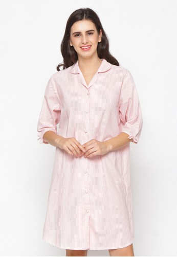 Impression pink Nightdress Calista 9101 DDBD5AAEB1D1EDGS_1