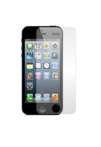 purchase cheap d0122 90bab Premium HD Clear Plastic Screen Protector For IPhone 5/5s Front Only
