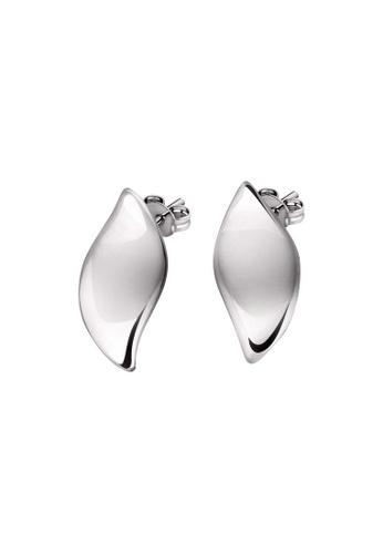 Morellato silver Morellato Foglia Stering Silver 925 Ladies Earrings SAKH44 76D35ACF1483F0GS_1