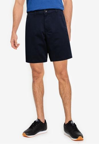 Hollister navy 7 Inch Shorts 528E6AAA156300GS_1