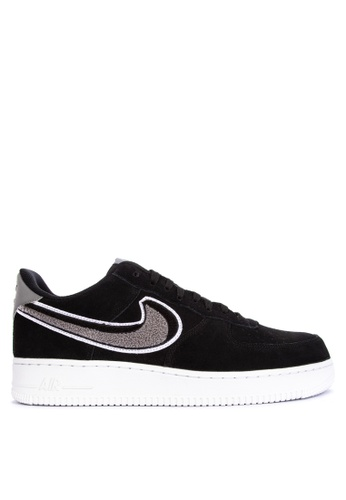 Nike black Men's Air Force 1 '07 LV8 Shoes 71051SH3355842GS_1