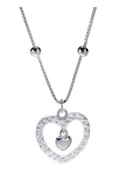 Kynda Heart K2780 Italy 925 Silver Necklace