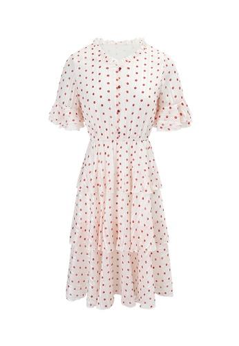 HAPPY FRIDAYS Temperament Printed Dress 63232 5735CAA2CEBE58GS_1