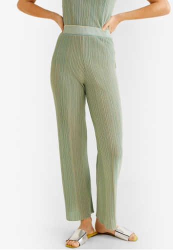 100% authenticated cute cheap outlet boutique Striped Ribbed Trousers