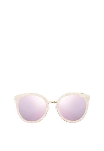 Carin pink Eliä C3 Sunglasses 5AEE7GLD394475GS_1