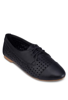 Perforated Weave Loafers