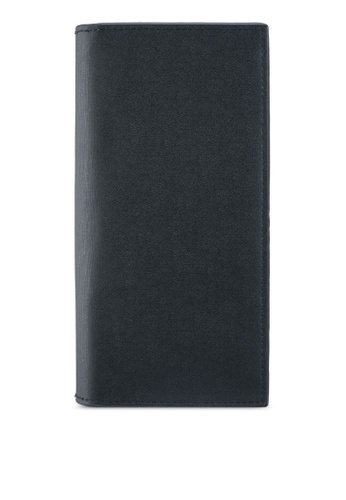 ZALORA black Smooth Biflold Long Wallet 9308DZZ18DE58BGS_1