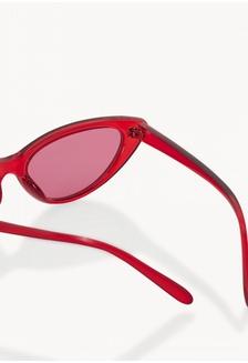 6e47e465ff ... Classic Cat Eye Sunglasses - Red Pomelo ...