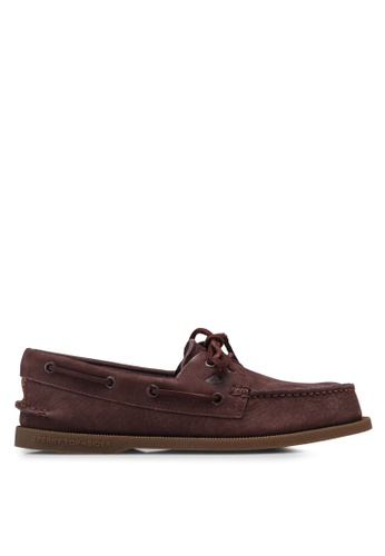 Sperry brown Authentic Original 2-Eye Washable Boat Shoes 8ACCFSHCFF091EGS_1