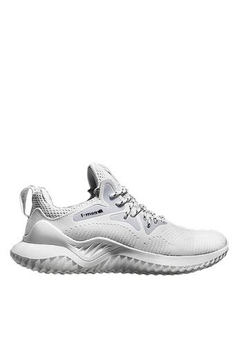 Twenty Eight Shoes 白色 VANSA 網布運動鞋 VSM-T1810 AD089SHEDE8E61GS_1